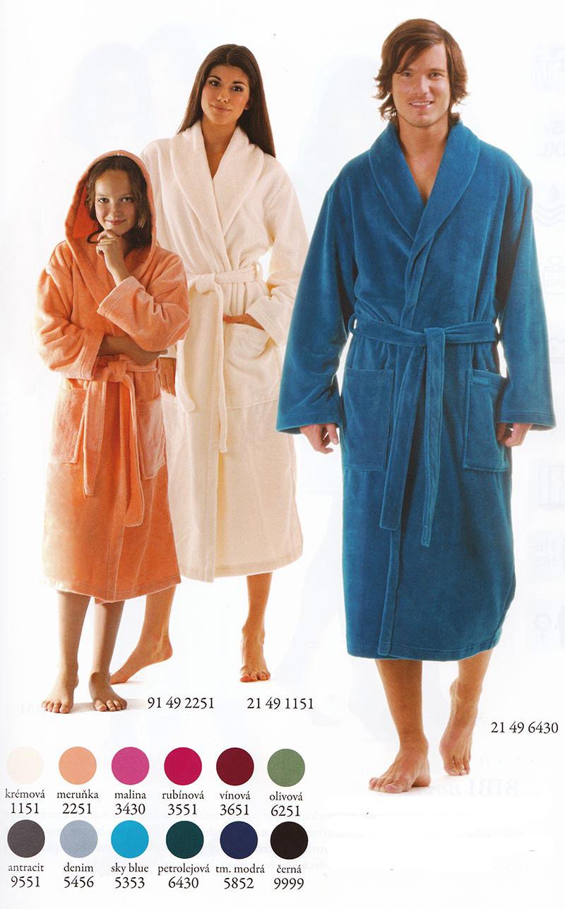 cceaf56a4 Unisex dlouhý župan se šálovým límcem Tampa | Spodní prádlo | E ...
