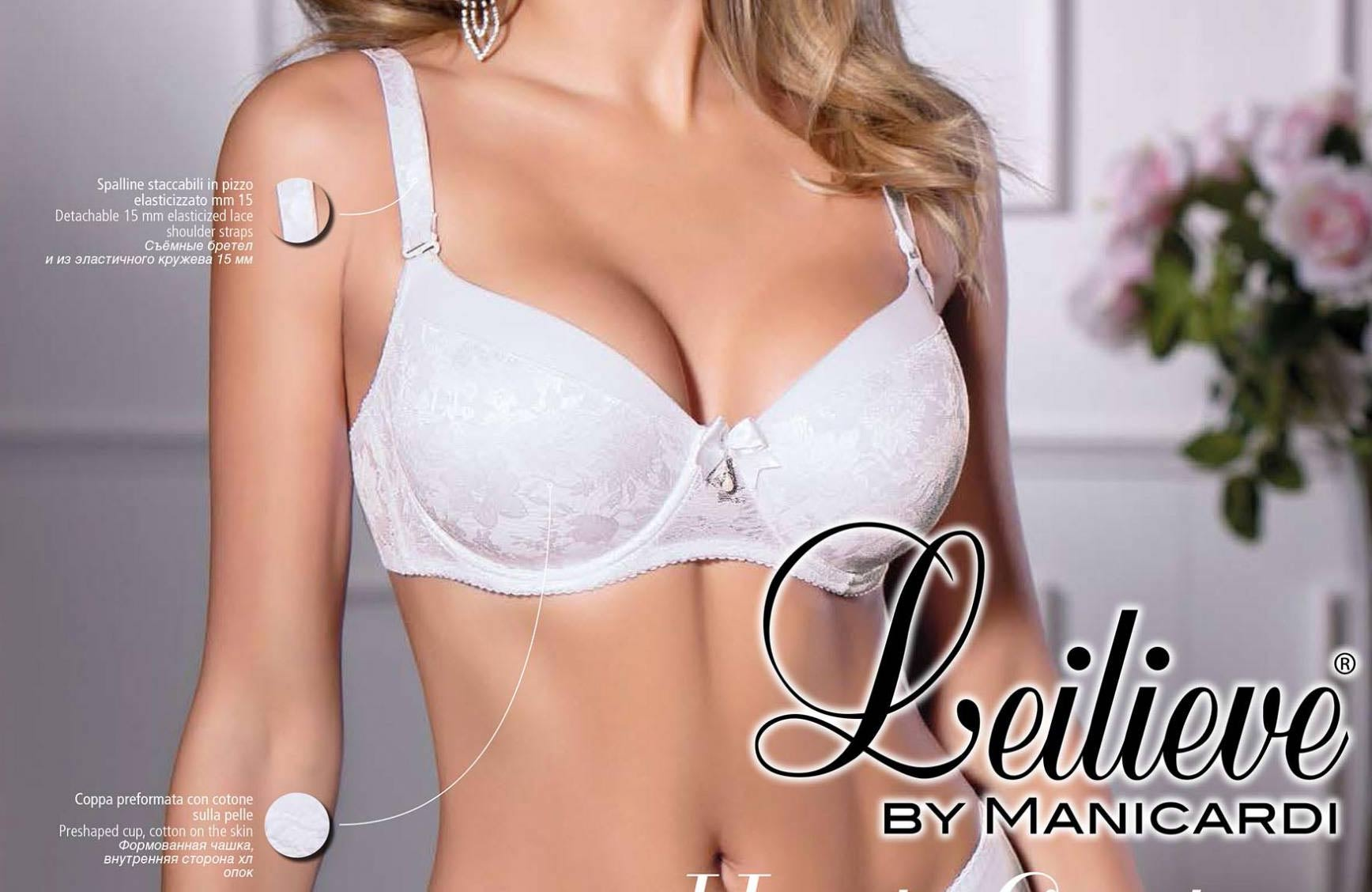 7718866e3 Leilieve celovyztužená podprsenka 7743 | E-velina.cz